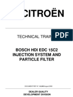 Citroen - Bosch Hdi Edc15c2 Injection System and Particle Filter