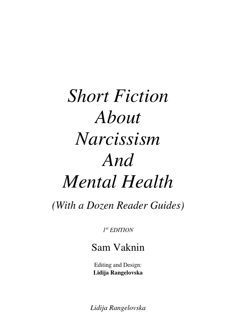 Short Fiction about Narcissism and Mental Health