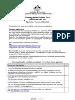 124 858 Application Checklist
