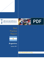Argentina Best Practices Report