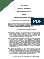 Municipio de Santiago de Cali Vs. Compa%C3%B1%C3%ADa Suramericana de Seguros S.A.