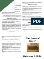 Sermon Notes May 15 2011