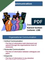 12311 Lecture Communication)