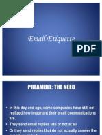WAOC 10. Email Etiquette 16