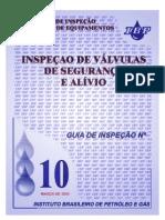 IBP - Guia nº10 - Válvulas de Segurança