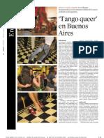 Tango Queer en Buenos Aires (Culturas - La Vanguardia, abril de 2010)