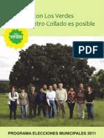 Programa electoral 2011 LVM Collado Mediano