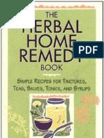 Herbal Home Remedy Book