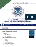 Matt Coose Federal Computer Week FISMA Presentation 050511