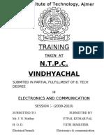 Ntpc Vindhyachal Report