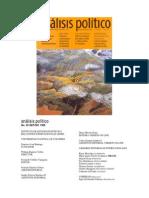 Revista Analisis Politico No. 35. Mary Roldan. Violencia Colonizacion y La Geografia de La Difrencia Cultural en Colombia 1998