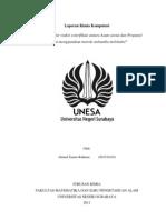 laporan aplikom