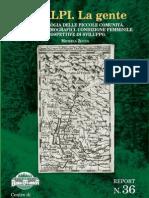 Antropologia - Report I