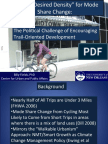 """Session 8- """"Nonmotorized infrastructure and community vitality (Trail Oriented Development)"""" by Billy Fields"""