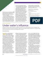 Under Water's Influence