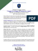 """Viaggio tra le lingue di Fabrizio De André"""