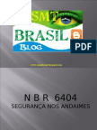 31898815 Segurana Em Andaimes NBR 6404 Www Sesmtbrasil Blogspot