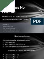Equipo 1 Tema 2.3 Aleaciones Ferrosas y No Ferrosas