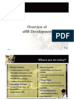 Overview of eHR Development