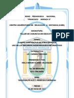 Uso de Los Recursos Audiovisuales e Informativos