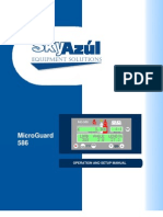 Micro Guard - 586 Operation and Setup Manual - SkyAzul