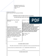 Ex Parte Application 05-11-11