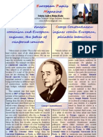 George Constantinescu romanian and European engineer, the father of reinforced concrete