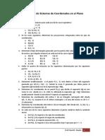Guía de Ejercicios de Sistemas de Coordenadas