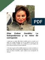Escandalos de Elba Esther Gordillo (Nueva Alianza)
