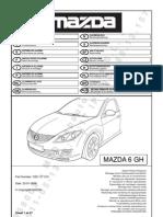 Manual Alarma Mazda Original