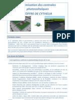 Optimisation des centrales photovoltaïques - 2 pages