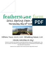 Featherstone 2011 Open House