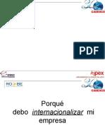 Charla Porqué debo internacionalizar mi empresa  ROdio 29 nov 2010 APEX