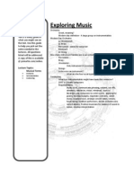 Ex Mus Study Guide Instruments