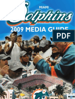 2009 Miami Dolphins Media Guide