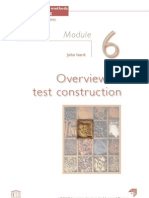 Diagnostic Test Construction
