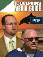 2008 Miami Dolphins Media Guide