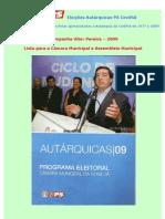 Eleições Autárquicas PS Covilhã 1977 - 2009