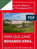 the best attitude 80236 1e707 Programa de Gobierno 2011-2015
