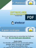 Educación y Software Libre