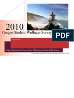 2010 Oregon Student Wellness Survey LANE