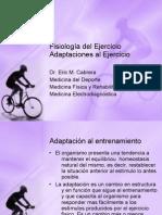 Adaptaciones Fisiológicas al Ejercicio
