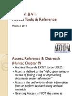 6615 Week VI VII Reference