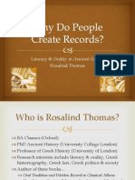 6620-Week III-Why Do People Create Records