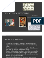 6620-Week II-What is a Record