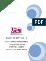 Ensayo Base de Datos OOs - Dguale