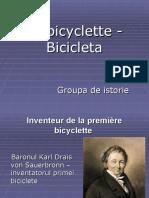 Prezentare bicicleta