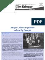 Krieger Spring 2011 Newsletter