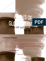 Causes of Global Warming Ambreen Part