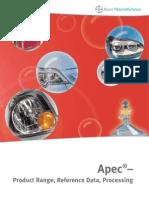 Apec - Product Range 2010-09
